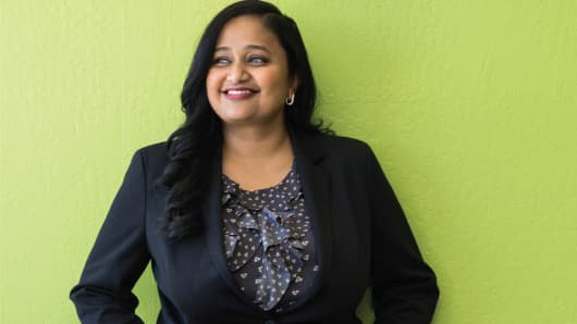 Drawbridge CEO Kamakshi Sivaramakrishnan is an ex-Googler who could upend the big three ad giants with her company's machine-learning technology.