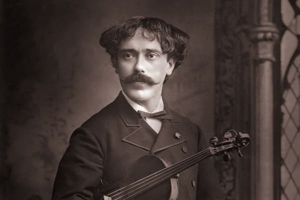 Spanish violinist and composer Pablo Sarasate