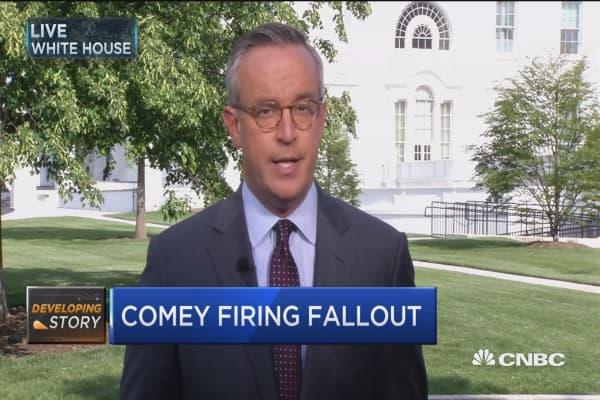 Will Comey fallout impact agenda?