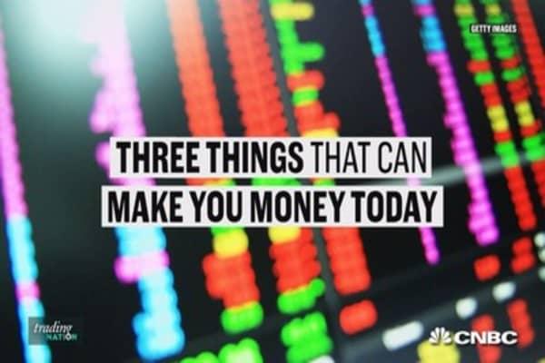 Three ways to make money on Thursday