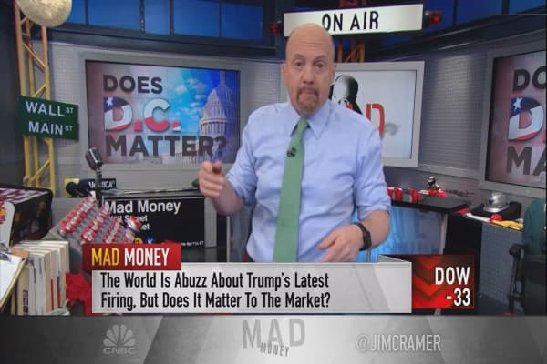 Cramer hand-picks opportunities in a market unaffected by Washington