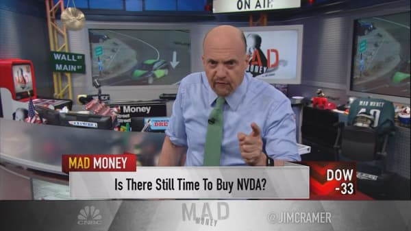 Cramer lists 4 things propelling Nvidia's booming business