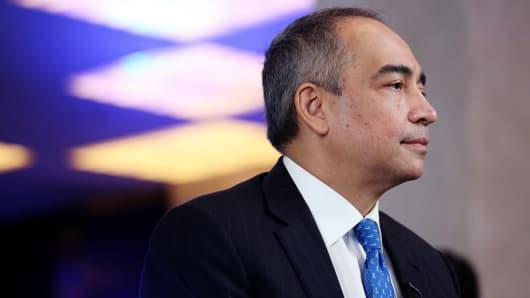 Nazir Razak, chairman of CIMB Group Holdings, in Hanoi, Vietnam, on Thursday, Dec. 8, 2016.