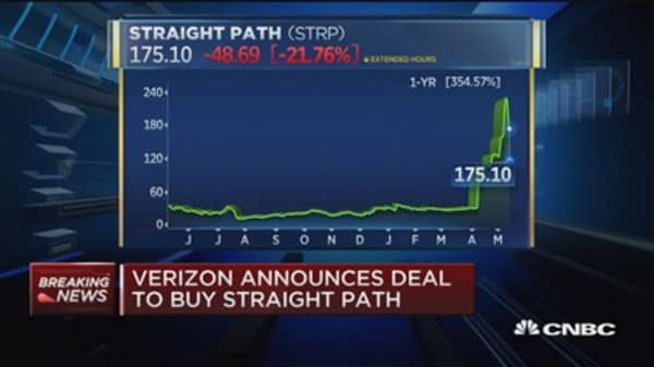 Verizon strikes deal to buy Straight Path