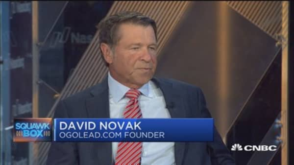 Leaders need to make employees feel engaged at work: David Novak