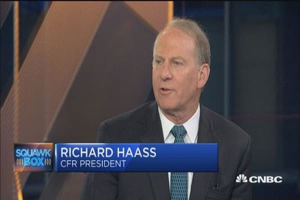 Something's 'odd' about protection of US-Russia relationship: Richard Haass