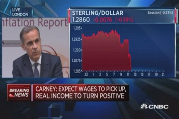 We'll adjust to new UK government post-election result: BOE's Carney