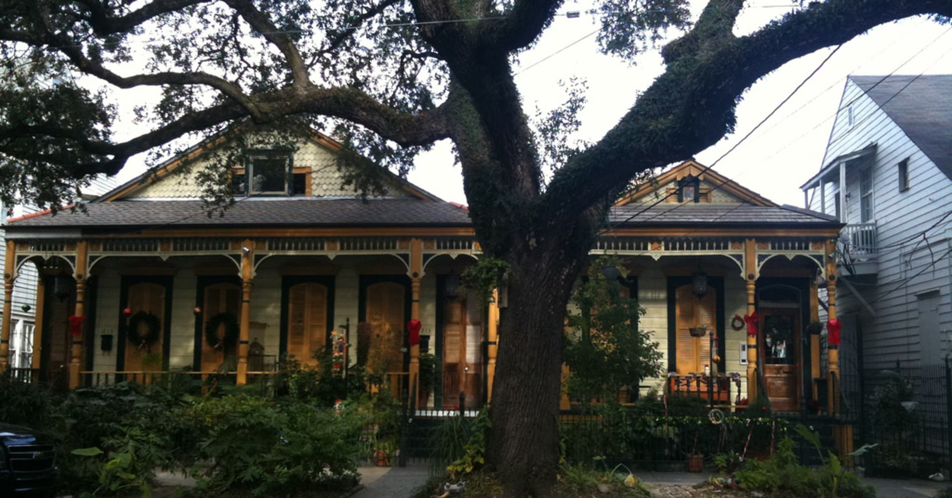 House in Treme, New Orleans. Photo by author.