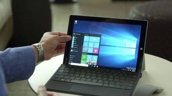 Microsoft announcing its newest Windows 10 update