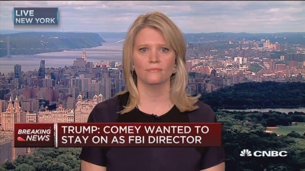 Trump administration has a 'big optics problem' with Comey firing: Sara Fagen