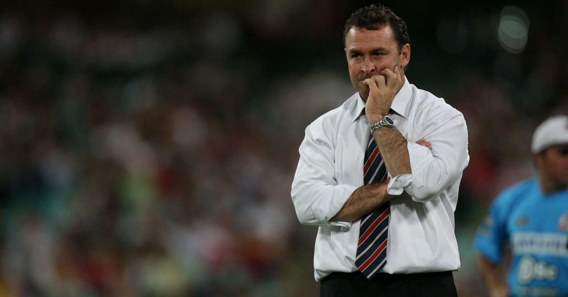 Australian rugby league football coach, Ricky Stuart.