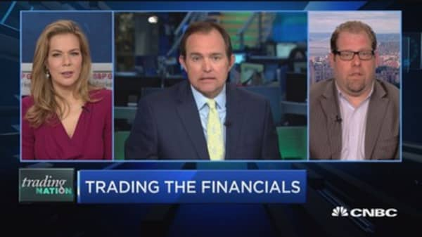 Trading Nation: Trading the financials