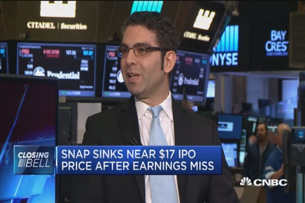 Will millennials stick with Snap stock?