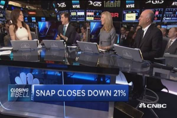 O'Leary: Is Snap a platform or a feature?