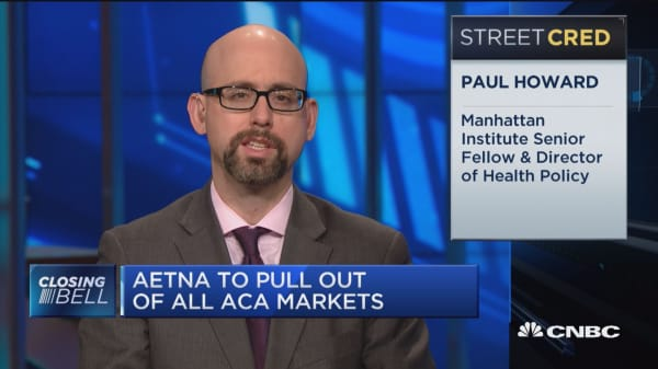 Aetna pulls out of Obamacare