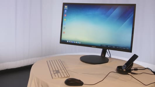 CNBC Tech: Samsung Dex Station 7