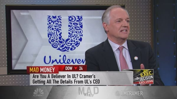 Unilever CEO: Better if Buffett lets us do what we do well