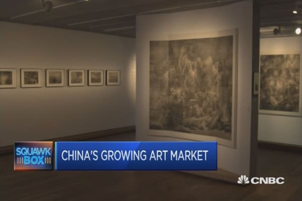 Alternative investments in art take off in China