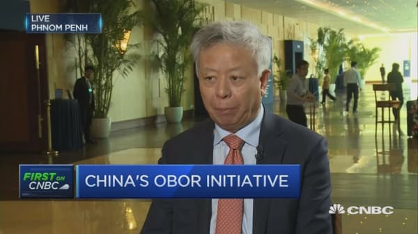 AIIB and OBOR are not identical: AIIB President