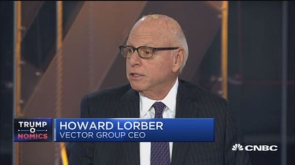 Tax reform only chance we have to spur the economy: Howard Lorber