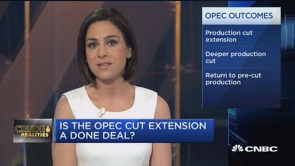 Oil market eyes OPEC production decision