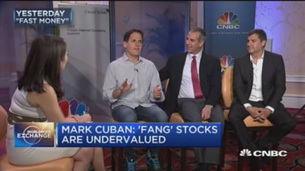Mark Cuban: 'FANG' stocks are undervalued