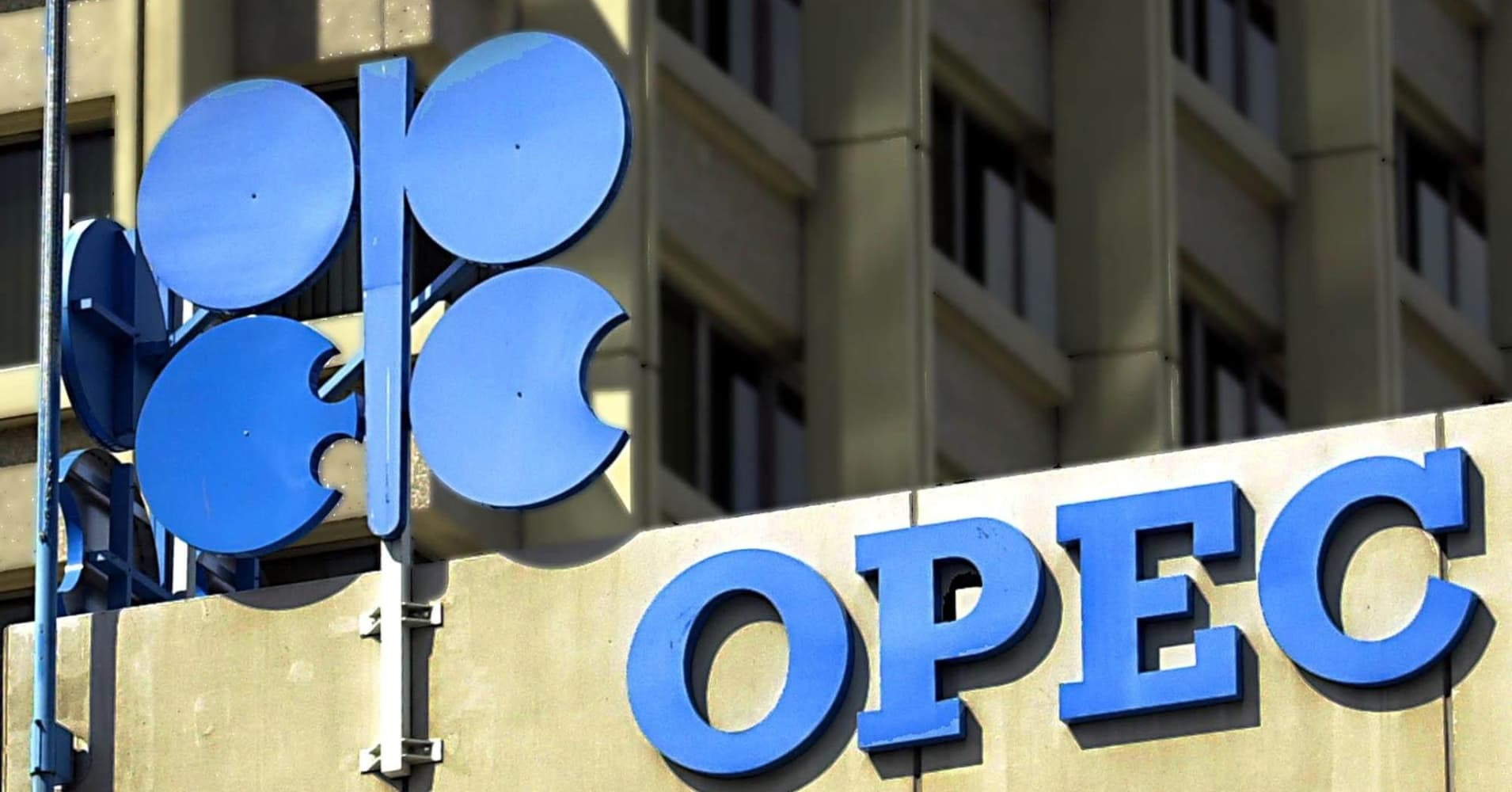 The OPEC (Organization of Petroleum Exporting Countries) logo