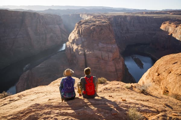 One financial advisor offered to arrange, and join, a client's bucket list trip to the Grand Canyon.