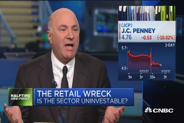 Nobody cares about JCPenneys: O'Leary