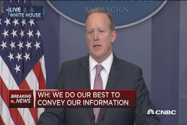 WH: President dismayed with the media