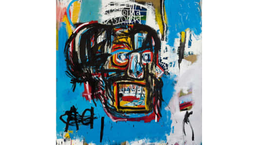 """Untitled"" by Jean-Michel Basquiat"