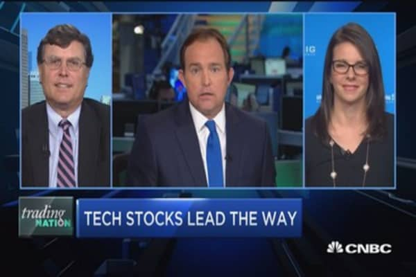 Trading Nation: Tech stocks lead the way