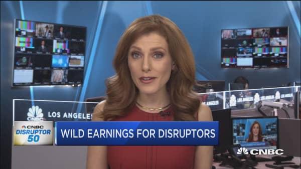 Crazy earnings season for past Disruptors