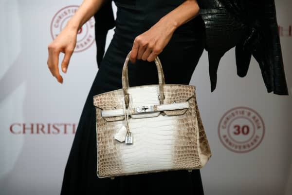 This Himalayan Birkin, similar to Victoria Beckham's, was sold at auction by Christie's in 2016.