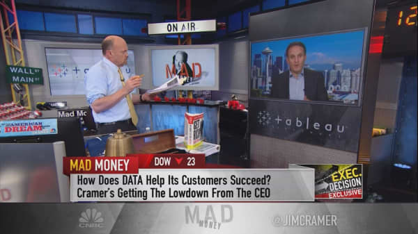 Tableau Software CEO on how business is growing