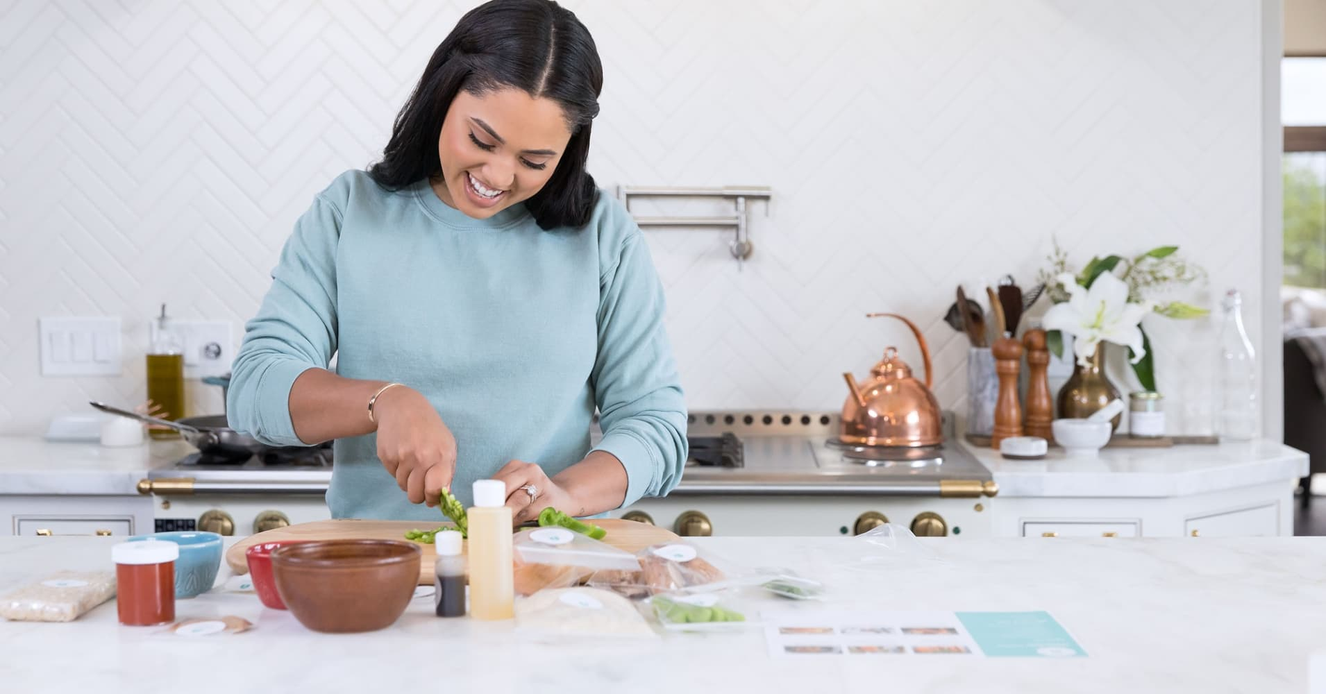 Ayesha Curry reveals her best advice for turning a passion into a career