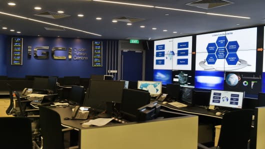 Interpol's Global Center for Innovation in Singapore