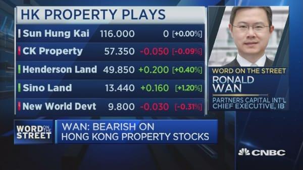 Should you be bearish on HK property players?
