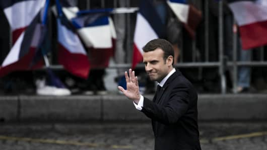 New French President elected Emmanuel Macron