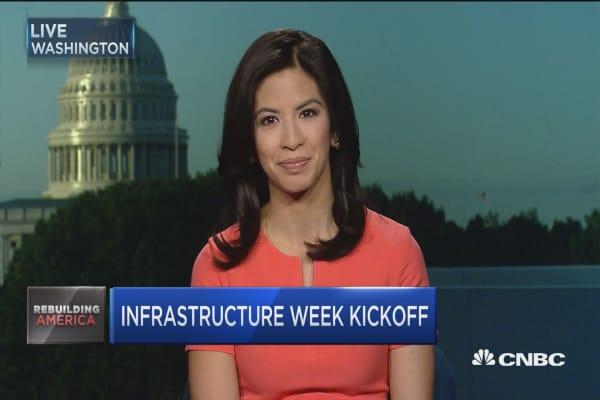 Infrastructure week kicks off in DC
