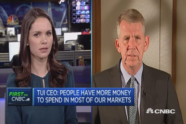People have more money to spend in most of our markets: TUI CEO