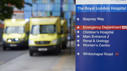 The unprecedented global cyberattack has hit more than 200,000 victims in scores of countries, Europol said on May 14, 2017, warning that the situation could escalate when people return to work. In Britain, the attack disrupted care at National Health Service facilities, including The Royal London Hospital, part of the largest NHS Trust in England.