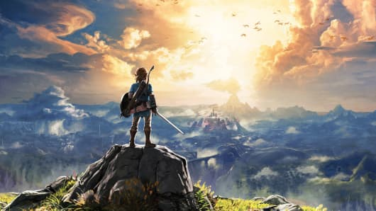 Artwork from Nintendo's The Legend of Zelda: Breath of the Wild