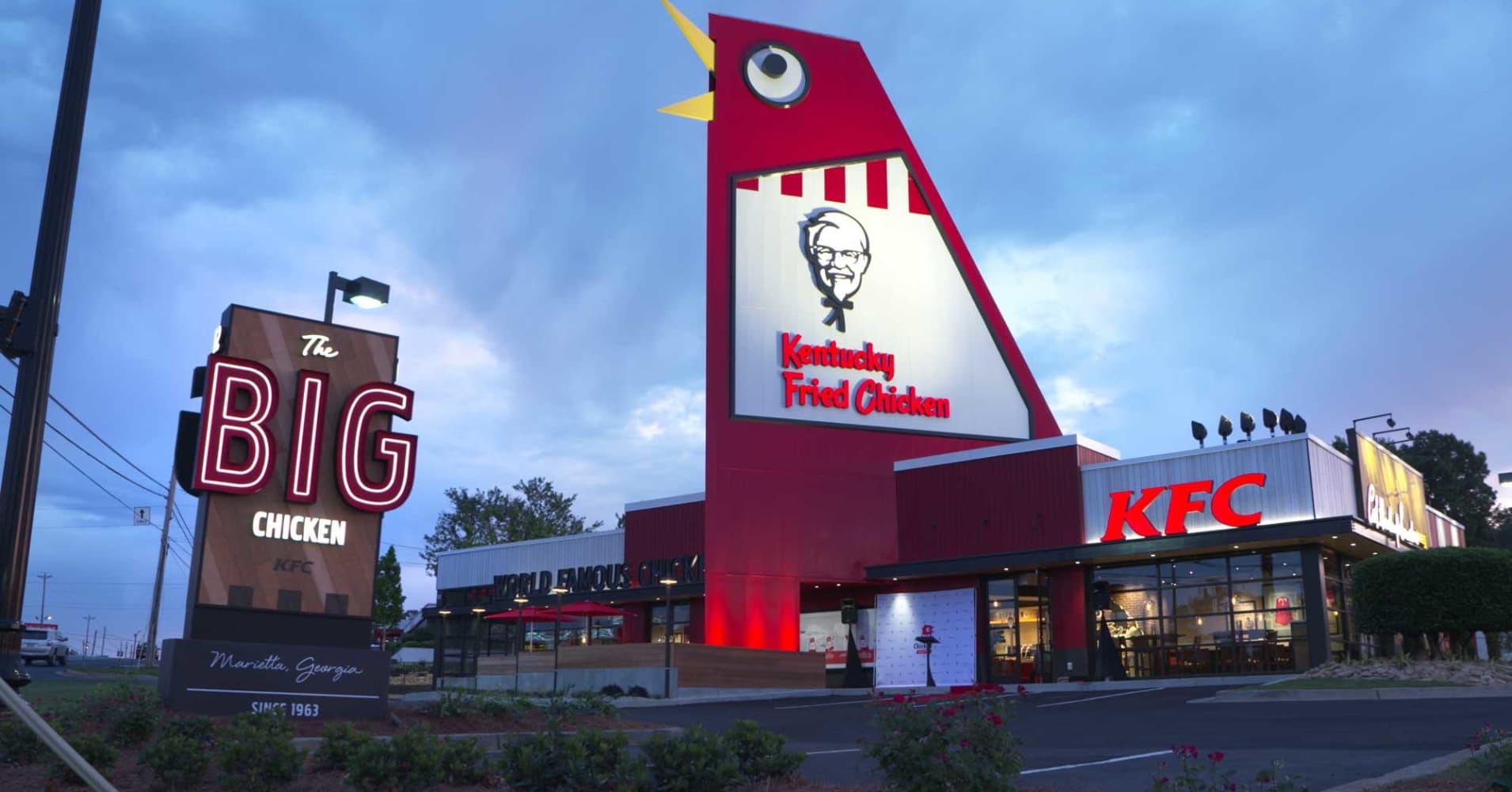 kfc spent 2 million to revamp this one restaurant