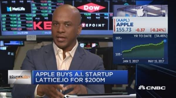 Apple buys AI startup Lattice.io for $200M