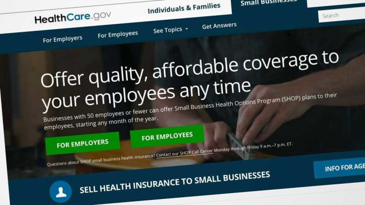 Healthcare Gov Quotes Unique Obamacare Enrollment For Small Business On Healthcare.gov Could End