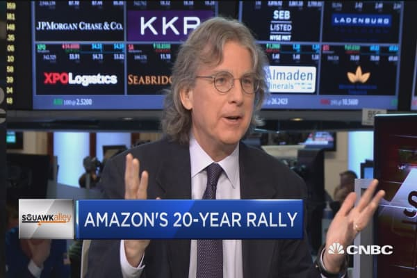 The only thing that can stop Google or Facebook is Amazon, says Roger McNamee