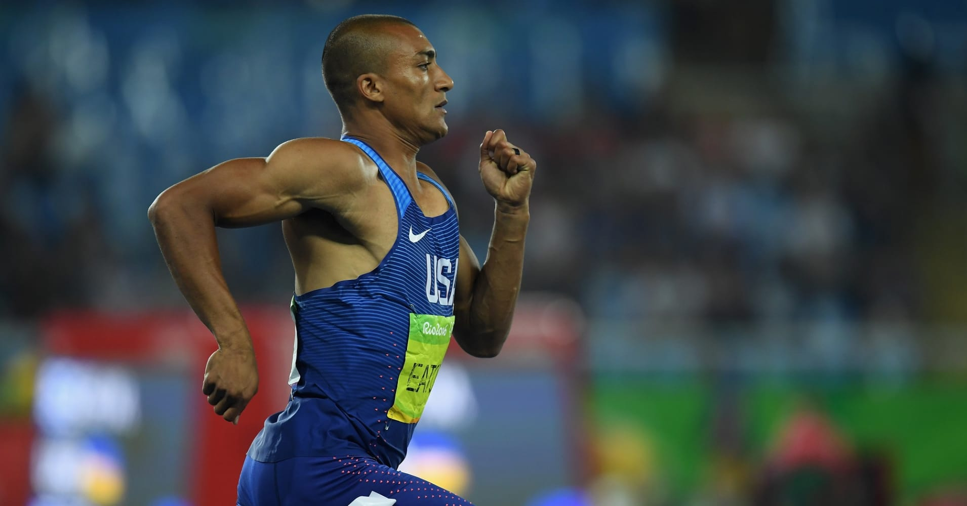 Two-time Olympic champion, Ashton Eaton, holds the world record in both the decathlon and indoor heptathlon.