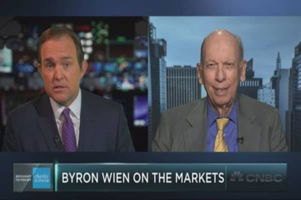 Byron Wien on stocks, bonds, earnings and Trump