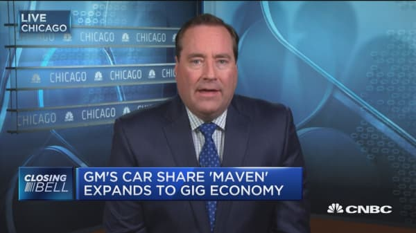 GM's Maven launches in NYC for car sharing